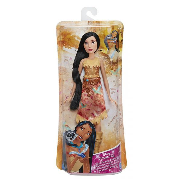 DISNEY PRINCESS ΚΟΥΚΛΑ POCAHONTAS ROYAL SHIMMER FASHION - 2 ΣΧΕΔΙΑ