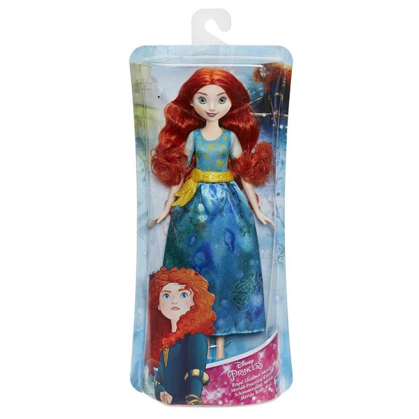 DISNEY PRINCESS ΚΟΥΚΛΑ MERIDA ROYAL SHIMMER FASHION