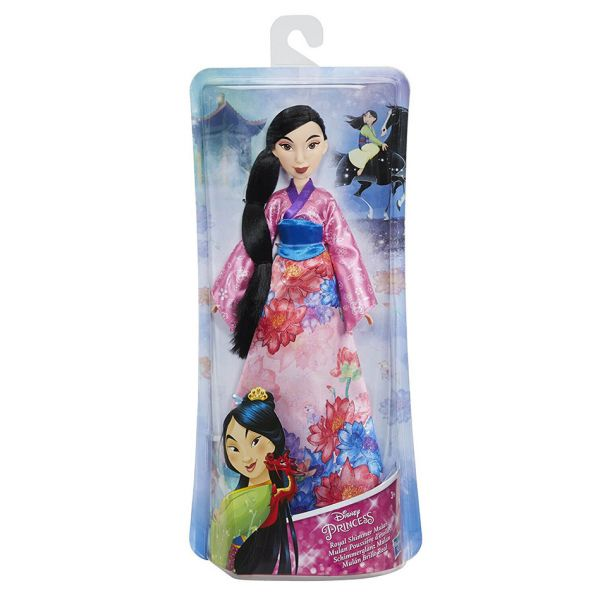 DISNEY PRINCESS ΚΟΥΚΛΑ MULAN ROYAL SHIMMER FASHION