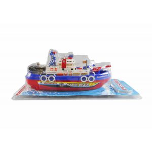 BATTERY OPERATED SHIP WITH SOUNDS AND LIGHT