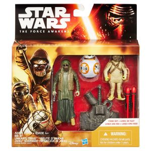 STAR WARS E7 FIGURES 2PACK