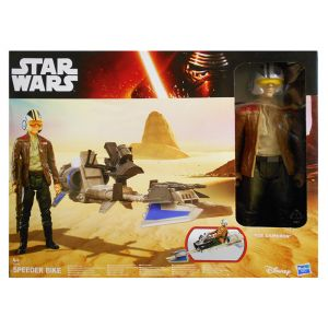 STAR WARS E7 HS HERO SERIES FIGURE & VEHICLE - 2 ΣΧΕΔΙΑ