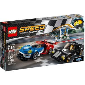 LEGO SPEED CHAMPIONS 2016 FORD GT & 1996 FORD GT40