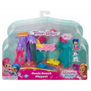 FISHER PRICE SHIMMER & SHINE GENIE BEACH PLAYSET
