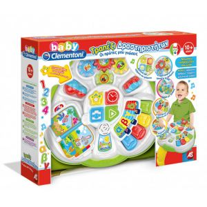 BABY CLEMENTONI ACTIVITY TABLE MY FIRST KNOELEDGE - SPEAKS GREEK