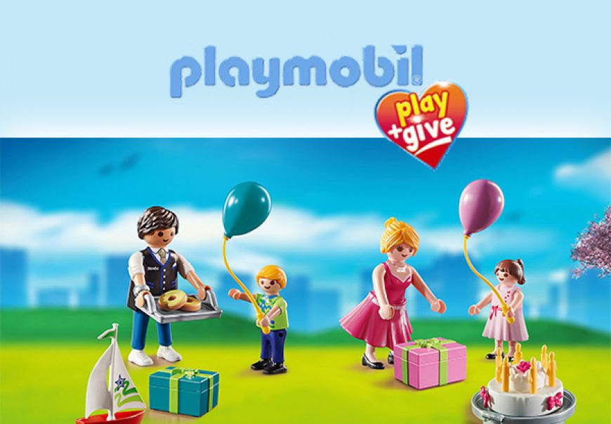 PLAYMOBIL PLAY & GIVE 2019