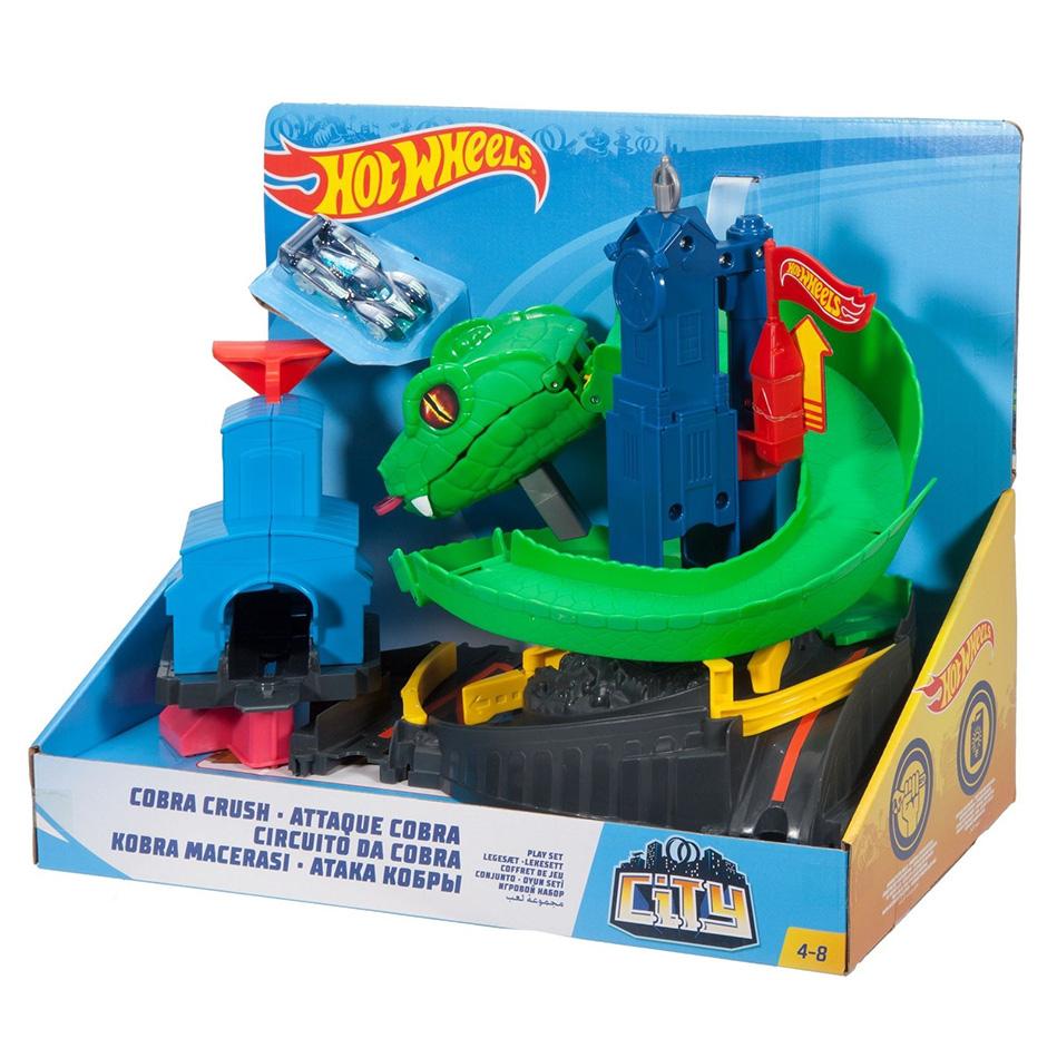 Circuito Hot Wheels : Hot wheels playset cobra perfect toys pantazopoulos