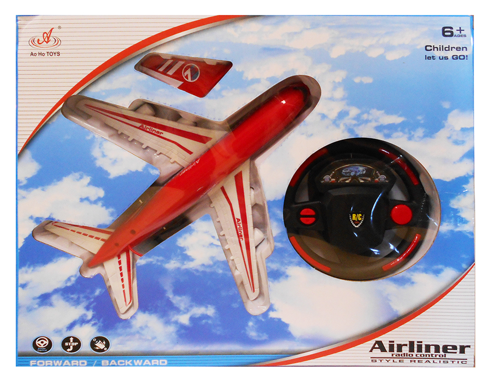 REMOTE CONTROL R/C AIRPLANE WITH STEERING WHEEL WITHOUT CHARGER
