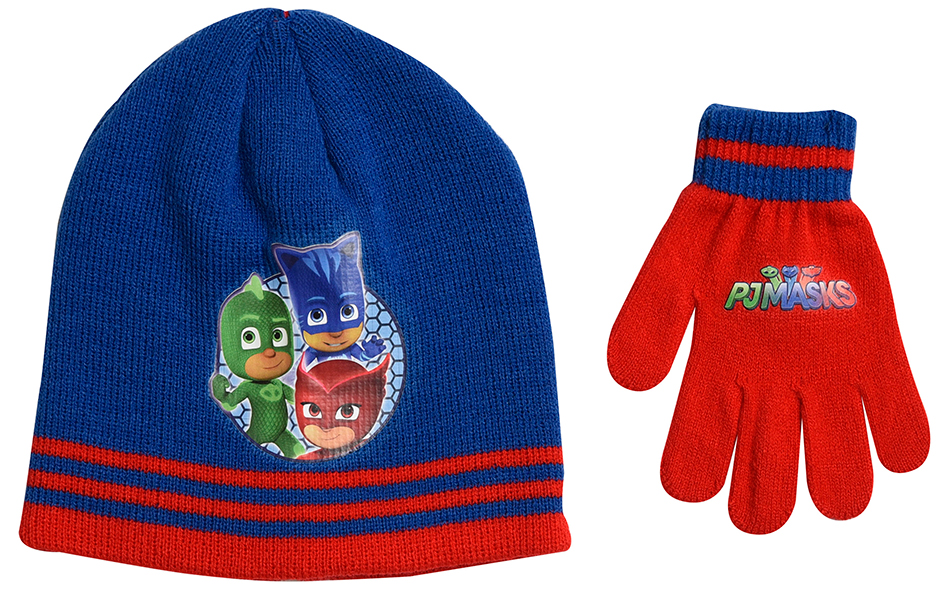 ... competitive price e3b7c eced6 SET 2 pcs WINTER HAT-GLOVES PJ MASKS BLUE  (331812 ... f63a920183b