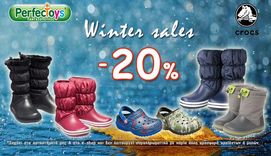 Winter Crocs -20