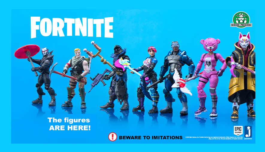 Epic Games-Fortnite figures
