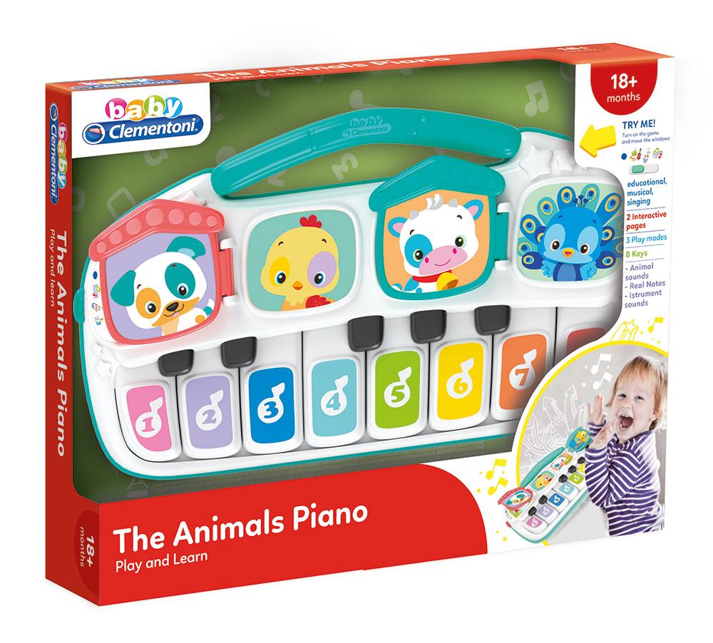 Baby Clementoni-მუსიკალური პიანინო