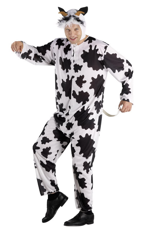 adult halloween costumes crazy cow l xl 235991 perfect toys pantazopoulos