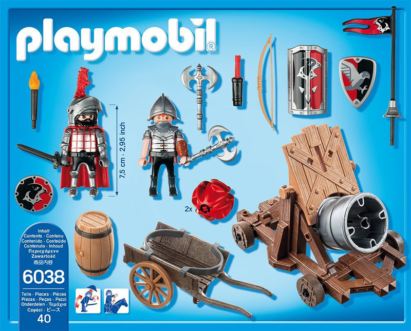 Playmobil knights 262552 perfect toys for Playmobil caballeros