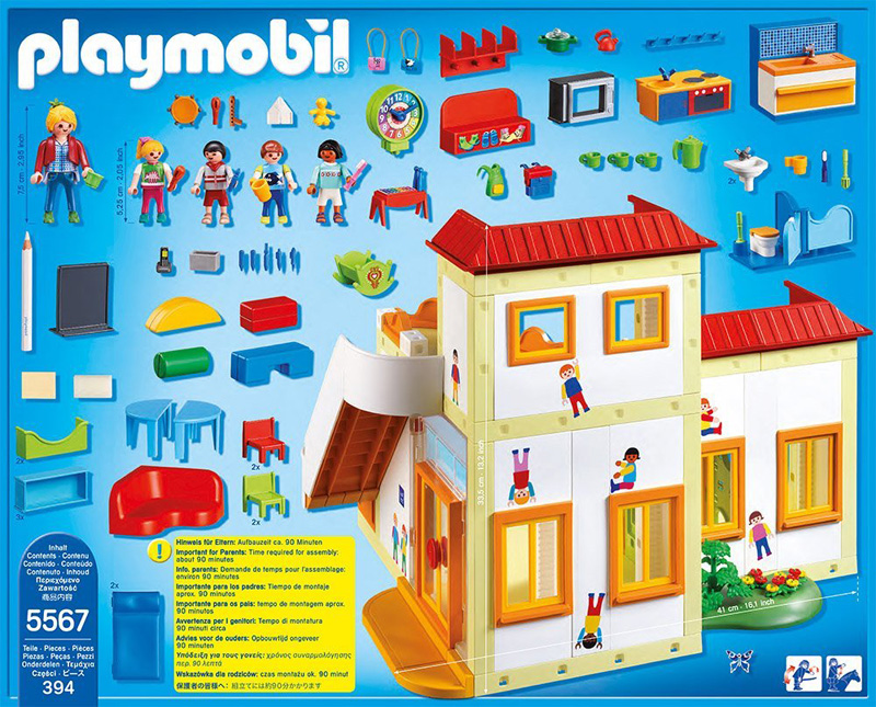 Playmobil city life 262577 perfect toys for Salle a manger playmobil city life