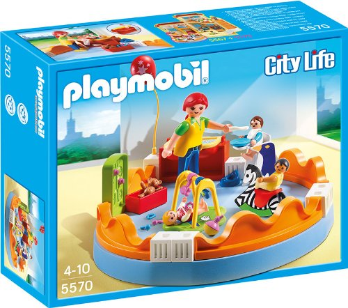 Playmobil city life baby playground 262580 perfect for Salle bain playmobil