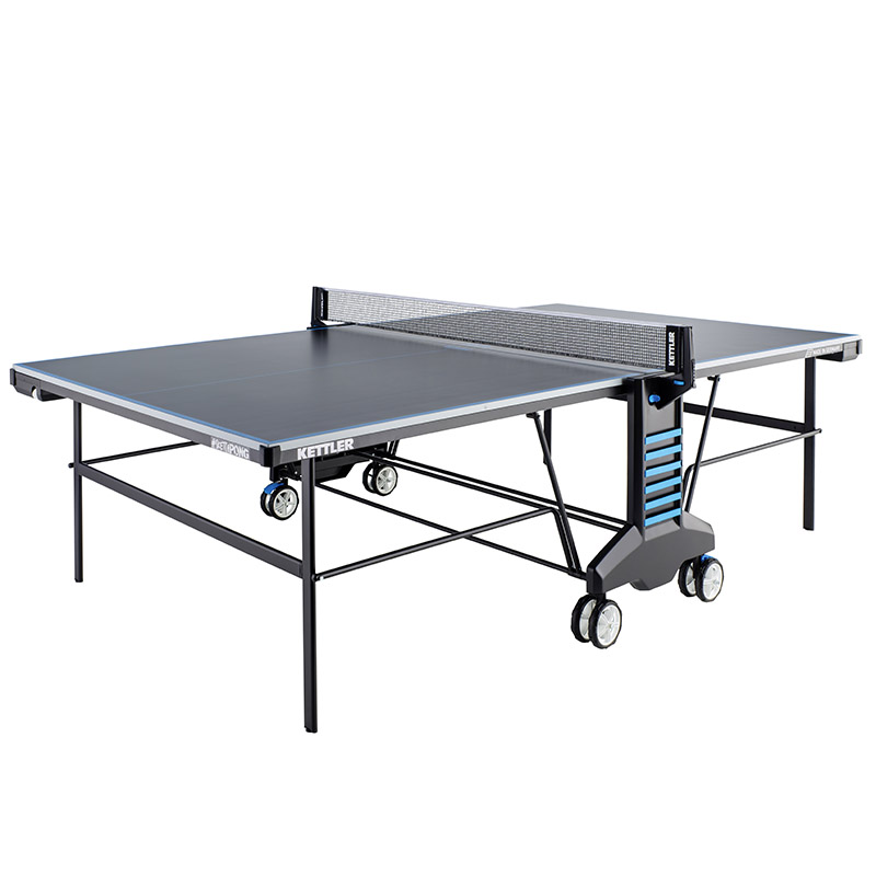 Kettler tennis table sketchpong outdoor black 267624 for Table kettler