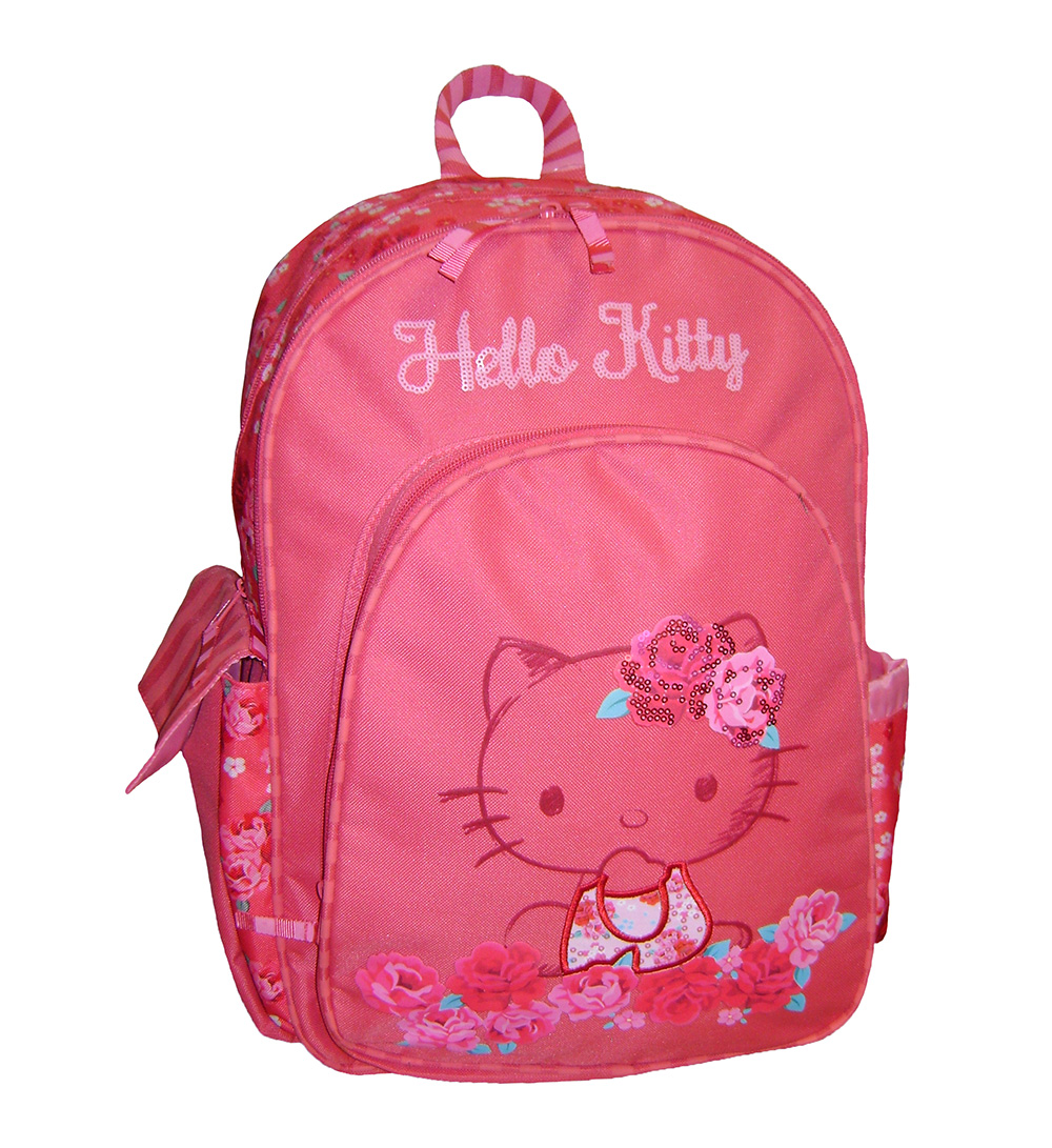 HELLO KITTY ROSES BACKPACK POLYTHESIAKO CORAL ( 15921) 5f61c223c5c