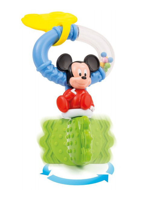 rattle disney bebe clementoni key mickey 1000 14506 - Disney Bebe