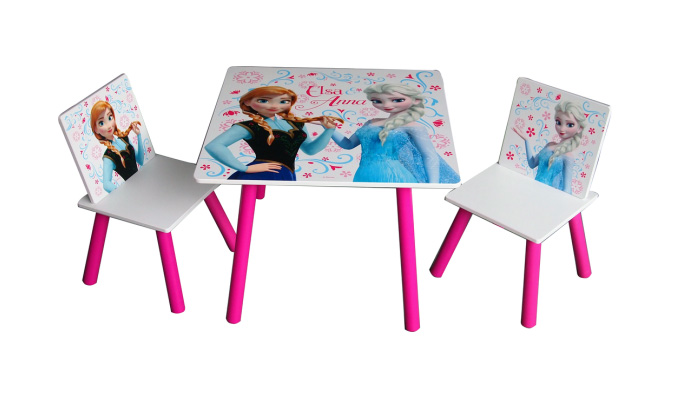 SET FROZEN TABLE AND 2 CHAIRS 278255 Perfect Toys