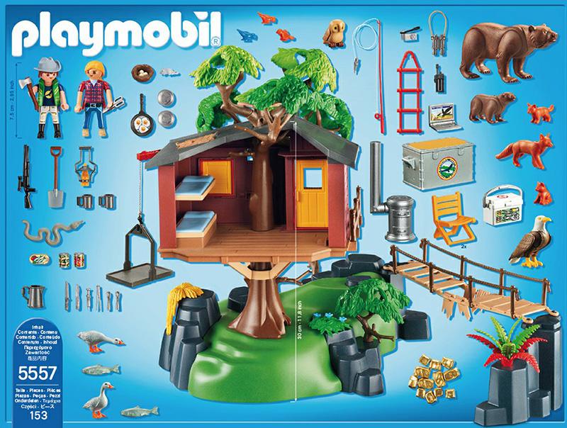 playmobil wild life adventure tree house 278946 perfect toys pantazopoulos