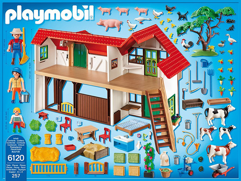 playmobil country big farm 279065 perfect toys. Black Bedroom Furniture Sets. Home Design Ideas