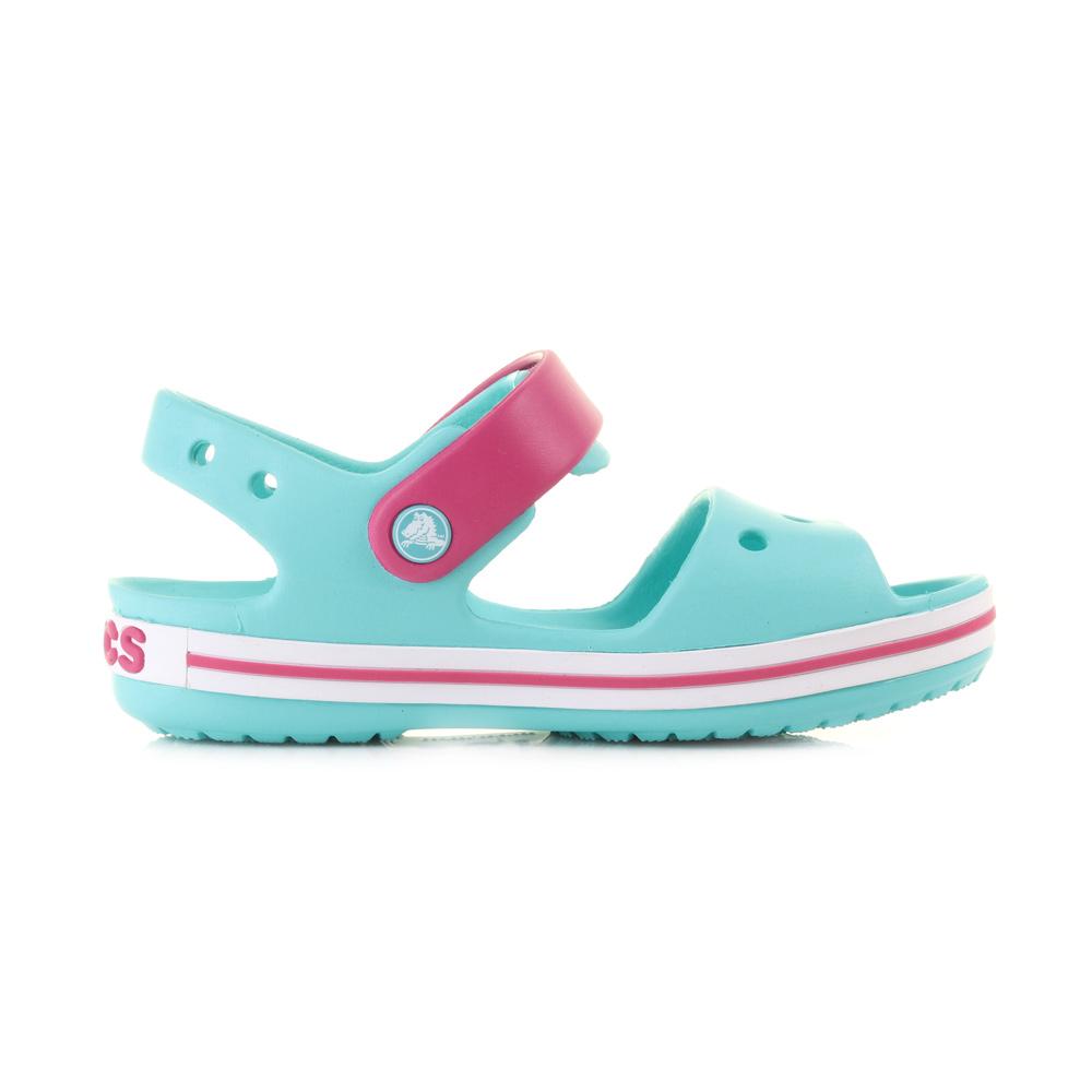 Sandalen CROCS - Crocband Sandal Kids 12856 Pool/Candy Pink 65ByUSt