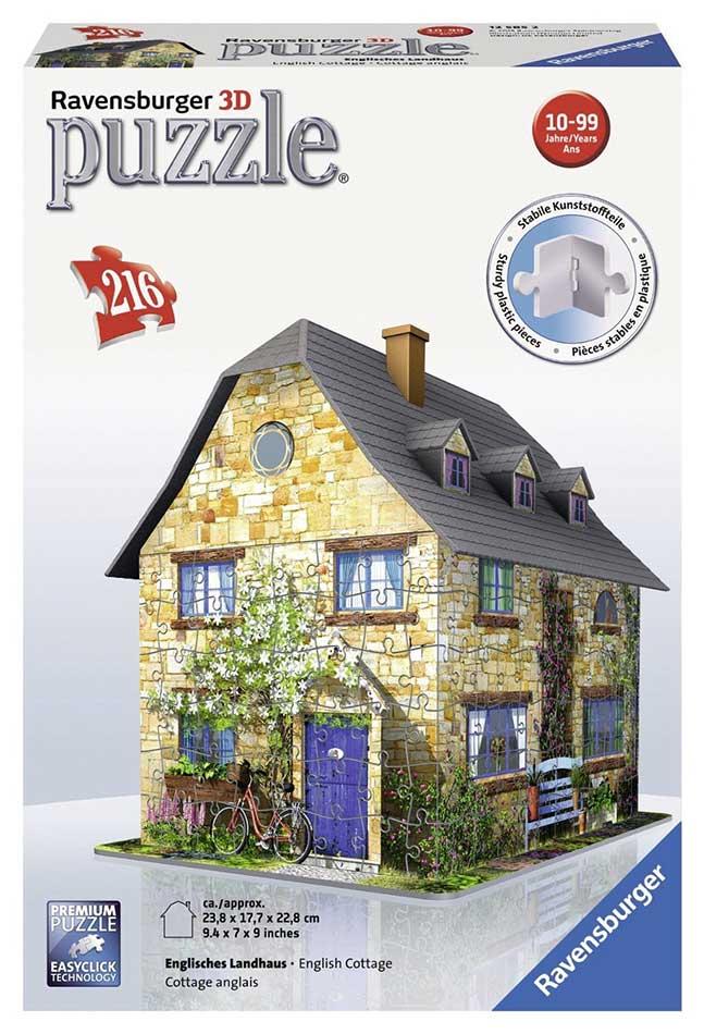 Englisches Cottage ravensburger 3d puzzle 216 pcs cottage 284217 toys