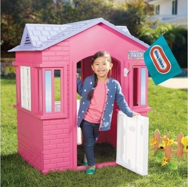 Little Tikes Outdoor House Pink Purple 287069 Perfect