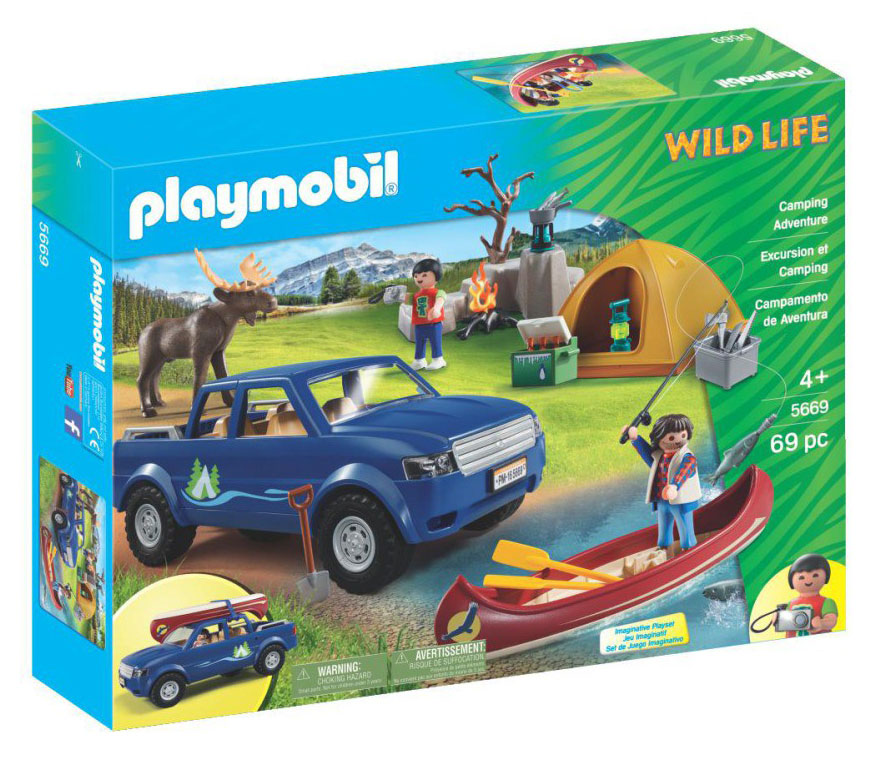 playmobil wild life camping in the forest 287189 perfect toys pantazopoulos. Black Bedroom Furniture Sets. Home Design Ideas