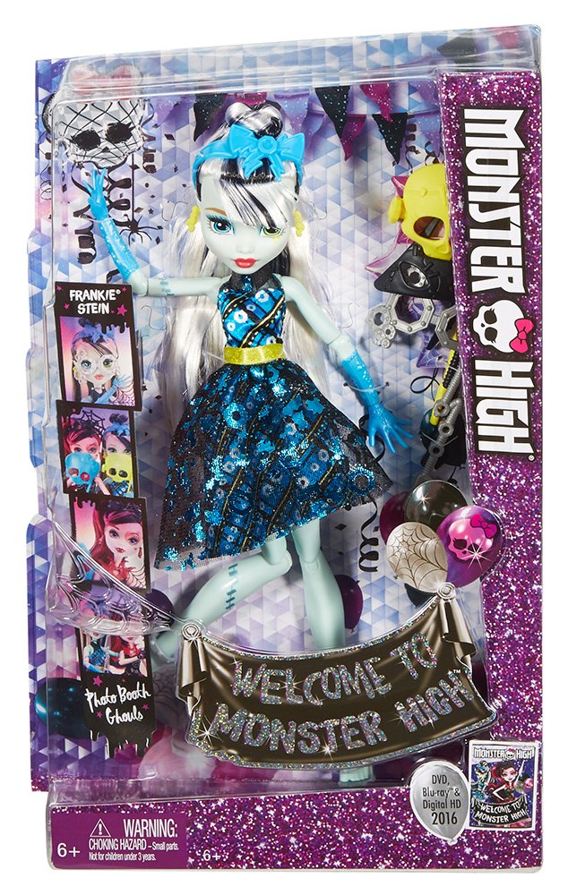Monster high basic students draculora frankie 2 designs 292539 - Monster high nouveaute ...