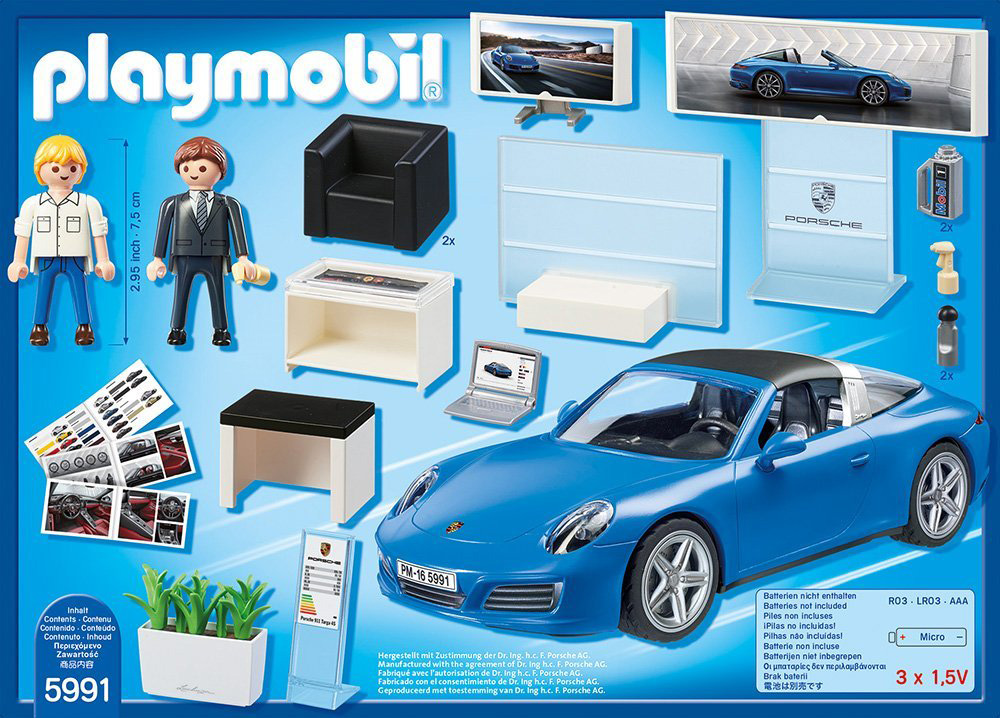playmobil sports action porsche 911 targa 4s 296652 perfect toys. Black Bedroom Furniture Sets. Home Design Ideas