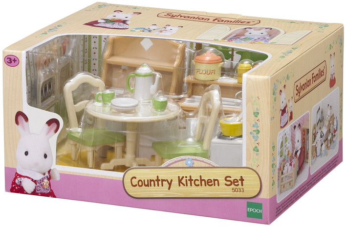 THE SYLVANIAN FAMILIES DINING ROOM SET 305021