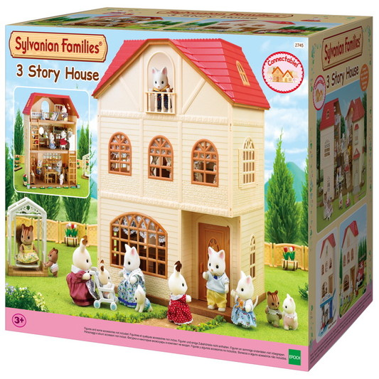 the sylvanian families 3 story house 305031 perfect. Black Bedroom Furniture Sets. Home Design Ideas