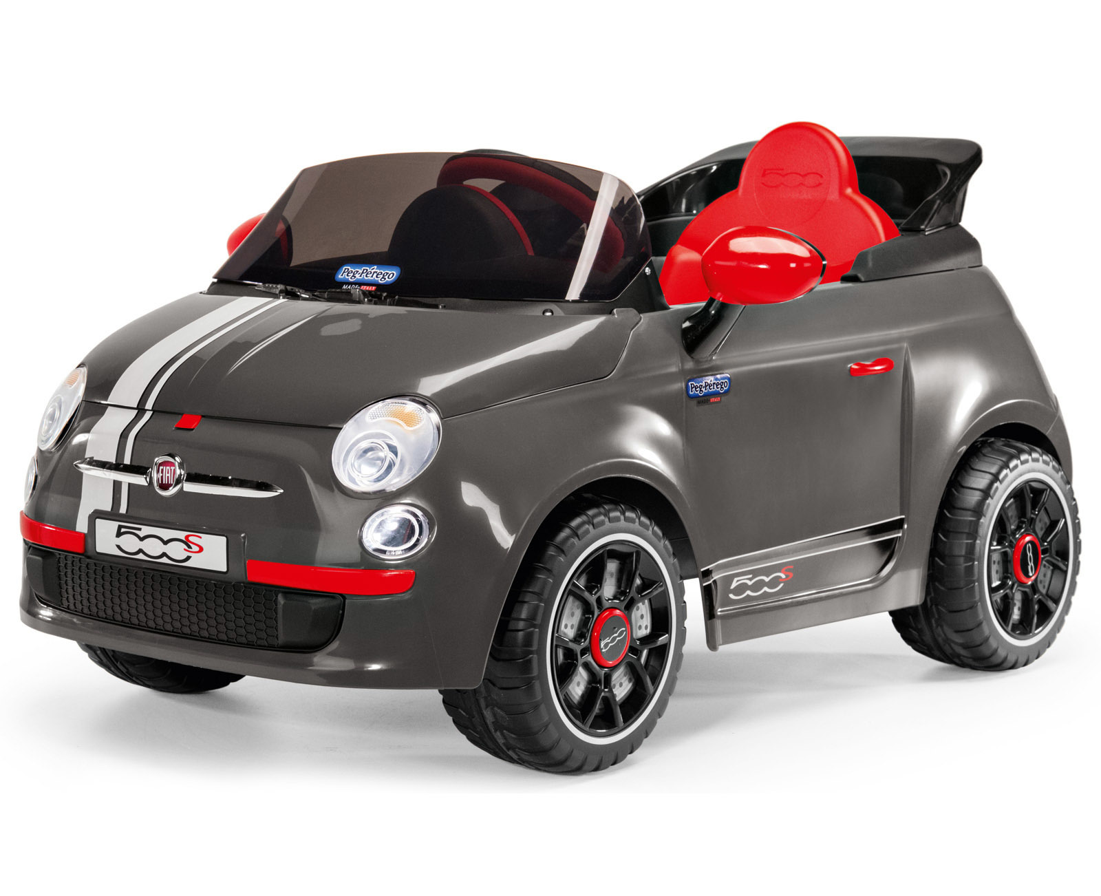 peg perego 6v fiat 500 s 285897 perfect toys. Black Bedroom Furniture Sets. Home Design Ideas