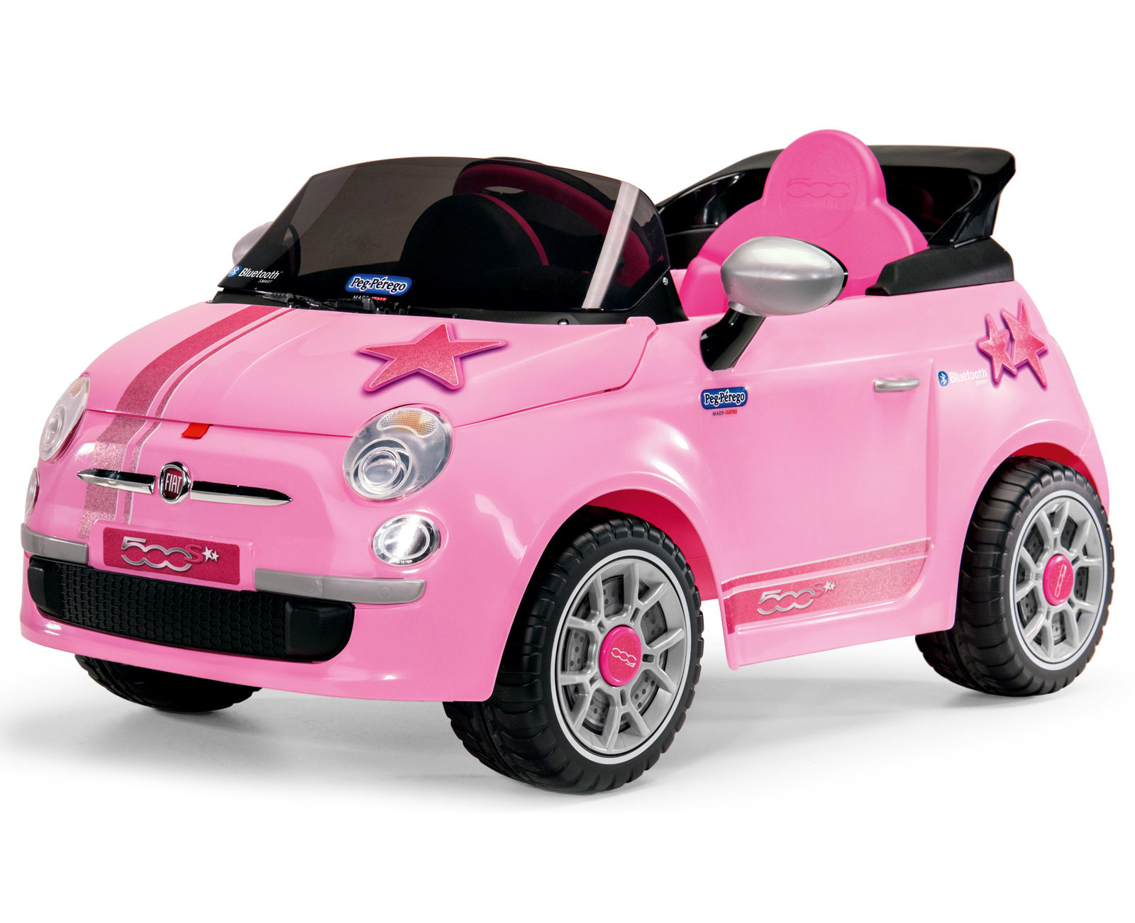 peg perego electrical car 6v fiat 500 s pink 285898 perfect toys pantazopoulos. Black Bedroom Furniture Sets. Home Design Ideas