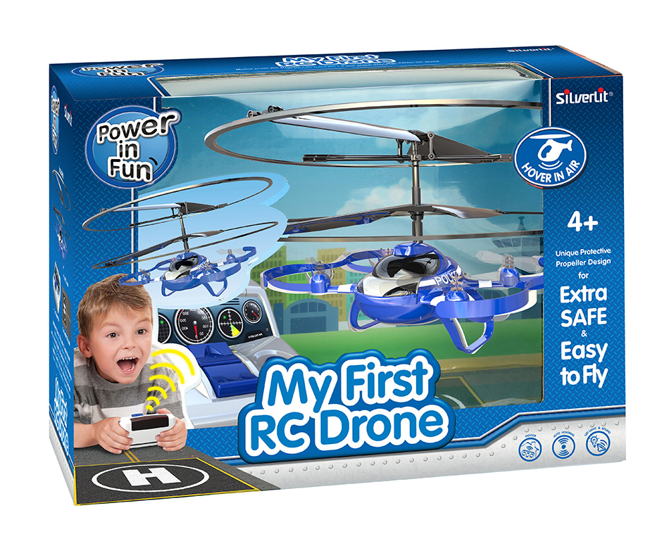 SILVERLIT REMOTE CONTROL RC MY FIRST DRONE 312067