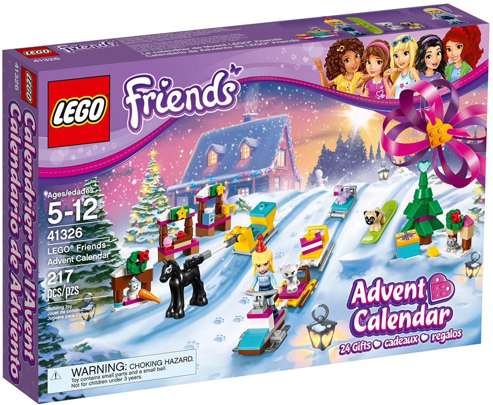 LEGO FRIENDS ADVENT CALENDAR (#41326)