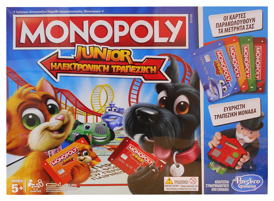 Table Game Monopoly Junior Electronic Banking 313954 Perfect